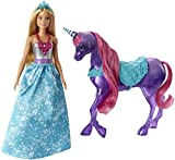 Barbie Dreamtopia Princess Doll and Purple Unicorn