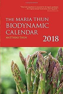 The Maria Thun Biodynamic Calendar 2018: 2018