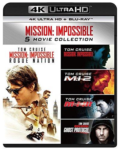 ミッション:インポッシブル5ムービー・コレクション(4KULTRAHD+Blu-rayセット)[4KULTRAHD+Blu-ray]