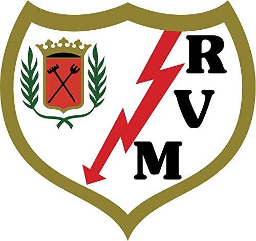 Rayo Vallecano FC Spain Soccer Football Alta Calidad De Coche De Parachoques Etiqueta Engomada 12 x 12 cm
