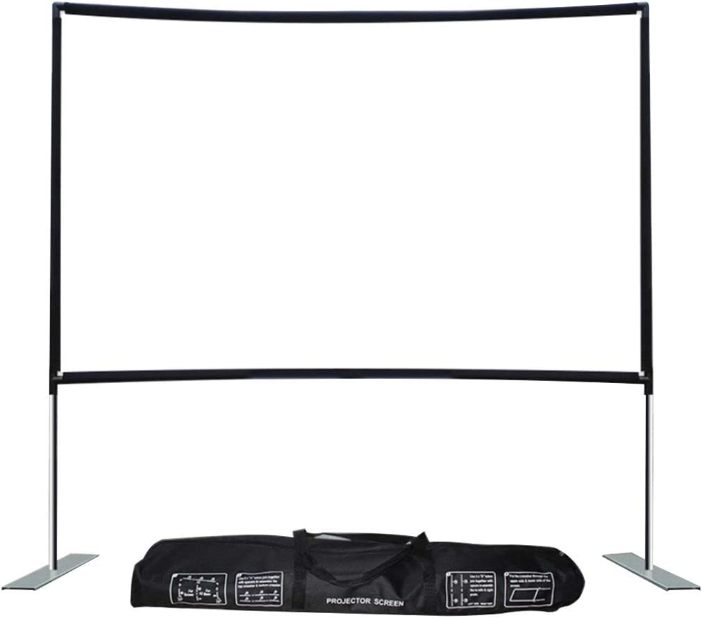 YLHXYPP 100 120inch Projector Screen Projection Video 16:9 HD Sc Daily bargain sale Max 55% OFF