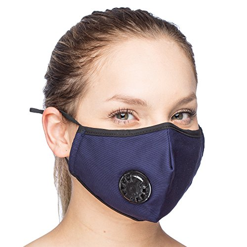 masque anti pollution coton noir