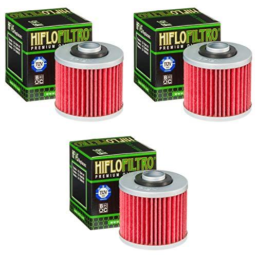 Hiflo 3x Ölfilter YFM 700 RY SP Special Edition 2009 HF145