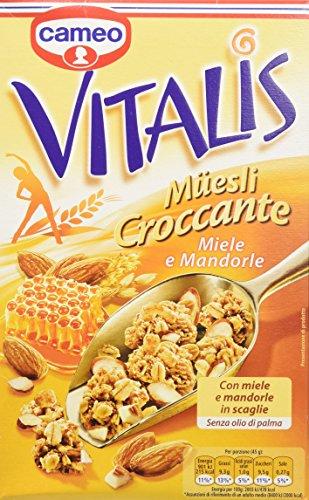 Vitalis muesli croccante miele e mandorle 300g - [confezione da 8]