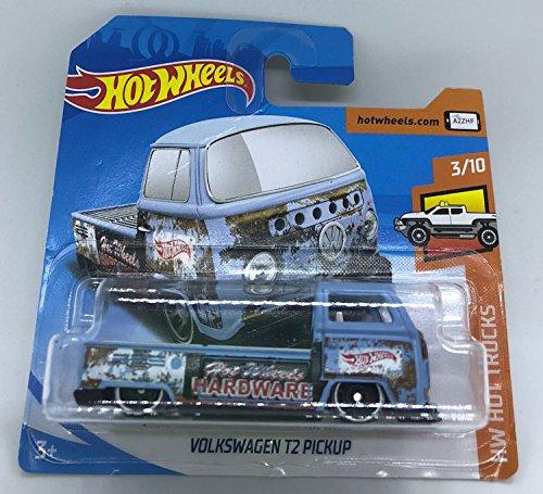 Hot Wheels 2018 Volkswagen T2 Pickup Blue/Rust 3/10 HW Hot Trucks 108/365 (Short Card)