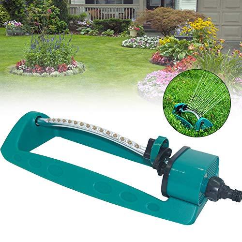 Apofly Rasensprenger Garden Viereckregner Oszillierender 15 Loch Sprinkler Wassersprinkler zum Garten Rasen Park Hof