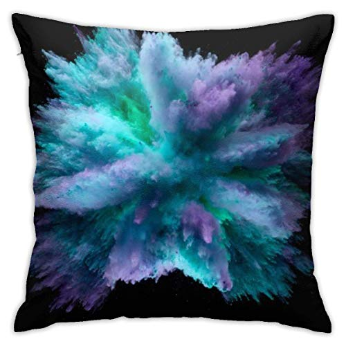 Throw Pillow Cover Cushion Cover Pillow Cases Decorative Linen Dusty Explosion for Home Bed Decor Pillowcase,45x45CM