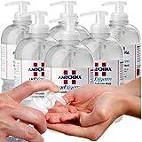 CUBEX PROFESSIONAL AMUCHINA gel igienizzante mani 500 ml disinfettante 6pz