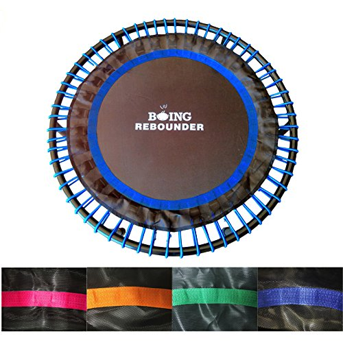 Boing Rebounder Bungee Trampoline 40' (Classic Black, Bungee Strength (150-250 lbs))