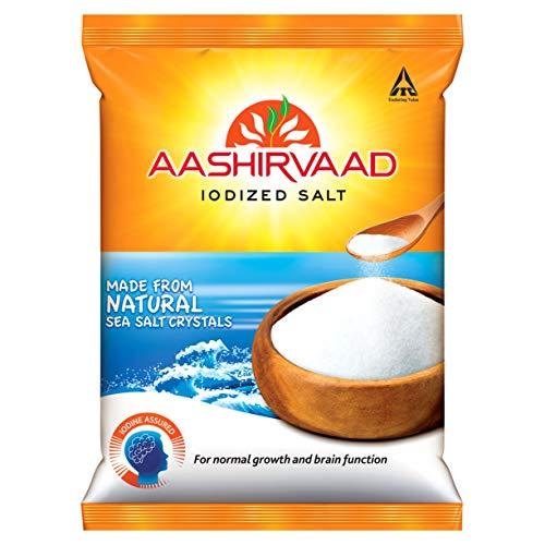 Aashirvaad Iodized Salt, with 4-Step advantage, 1kg