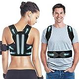 Back Brace Posture Corrector, Vcloo Posture Corrector for Women & Men Upper Back
