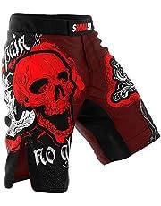 SMMASH Skull Pantalones Cortos para Hombres para Entrenamiento Cruzado