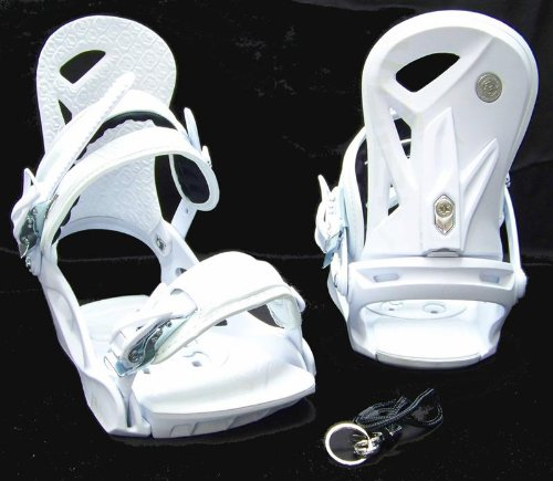 Ftwo D- VISION white Snowboardbindung Softbootbindung Softboot Bindung Freeride