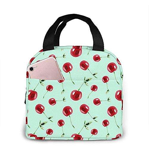 Smile Sweet Cute Fruit Food Lunch Bag Réutilisable Lunch Box Lunch Cooler Tote