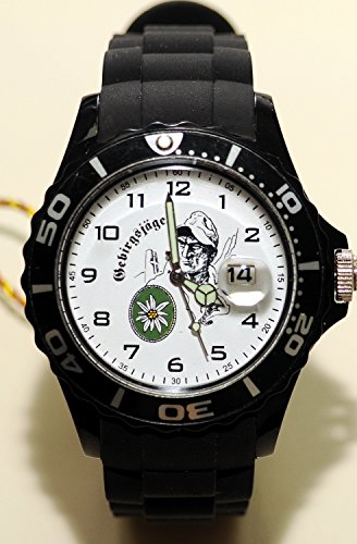 IMC Gebirgsjäger Silco schwarz Armbanduhr Uhr Sonderedition Armee Militär OVP Sonderedition