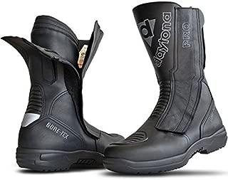 Daytona Travel Star Pro CE Black Leather Motorcycle Boot Size EU46, UK11