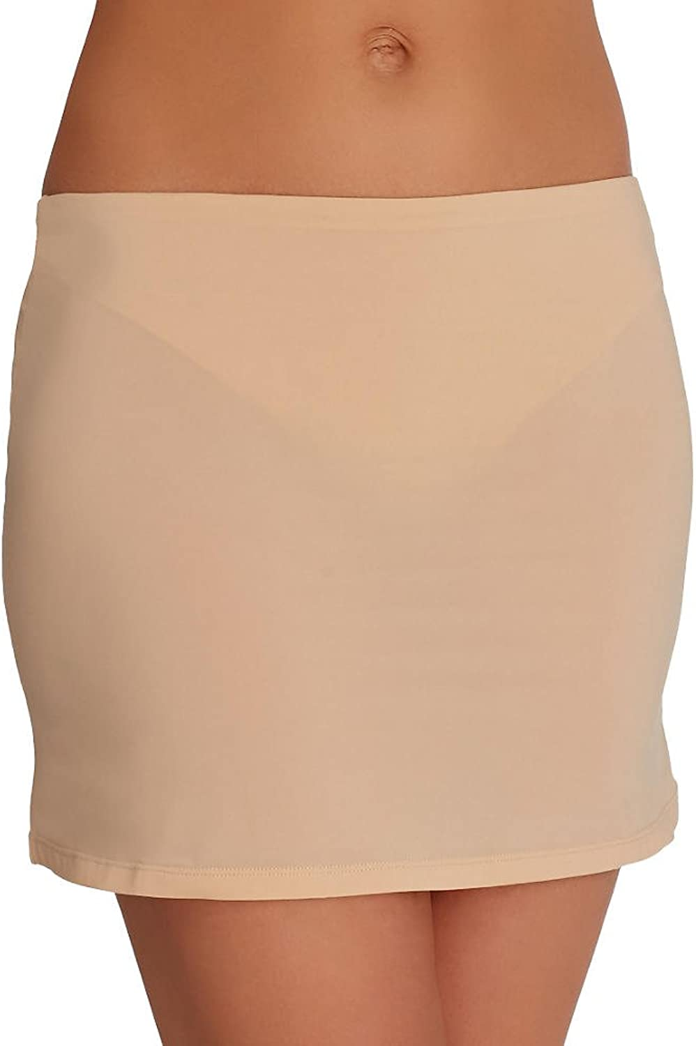 Bumbrella by Cici Soleil Womens 2in1 No Squeeze Pantyslip XS nude