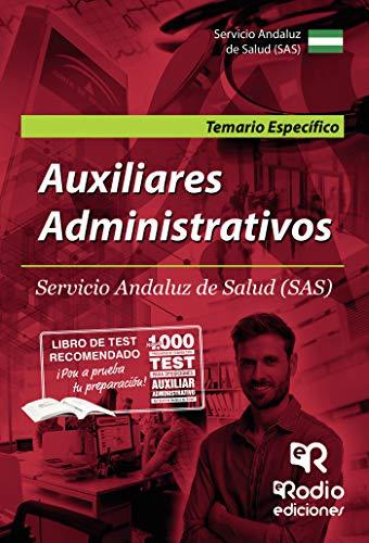 Auxiliares Administrativos. Temario Específico. Servicio An