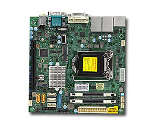 Supermicro Q – Mainboard (DIMM, DDR4-SDRAM, 4 GB, 8 GB, 16 GB, Intel, LGA1151, Intel i210at)