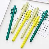 Ruluti Penne di Gel 10Pcs Cactus Carino Kawai Scuola Thing Kawaii Articolo di Cancelleria Deposito del Negozio Materiale BTS Ufficio Accessori Strumenti Fermo, Colore Casuale