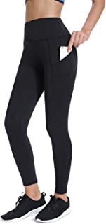Joyshaper High Waisted Leggings with Pockets for Women Active Workout Running Yoga Pants Gym Tights
