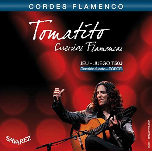 Savarez snaren voor klassieke gitaar Flamenco set T50J High Tension.