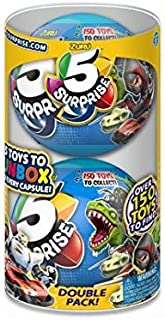 5 Surprise Blue Mystery Capsule Collectible Toy (Wave 2) Pack by Zuru