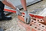 Silverline Tools 868642 - Guantes térmicos para albañil (Talla grande) multicolor, L