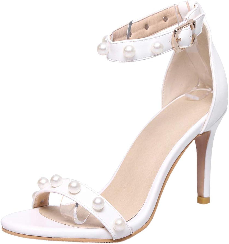 CularAcci Women Elegant Sandals Ankle Strap