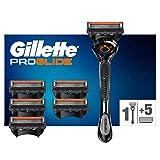 Gillette ProGlide Maquinilla de Afeitar Hombre con Tecnología Flexball + 6 Cuchillas de Recambio (El Diseño Exterior del Paquete Puede Variar)
