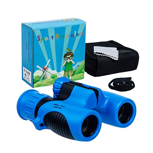 Refasy Binoculars for Kids,High Resolution Compact Mini Binocular Toys for Kids Small Telescope for Bird Watching Travel Camping Outdoor Games Best Gifts for 3-12 Years Boys Girls