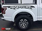 XPLORE OFFROAD - F150 Raptor Logo Decals For Truck Side Bed | Both Sides | Matte Black | Fits F150 F250 F350+ | 2017-2019