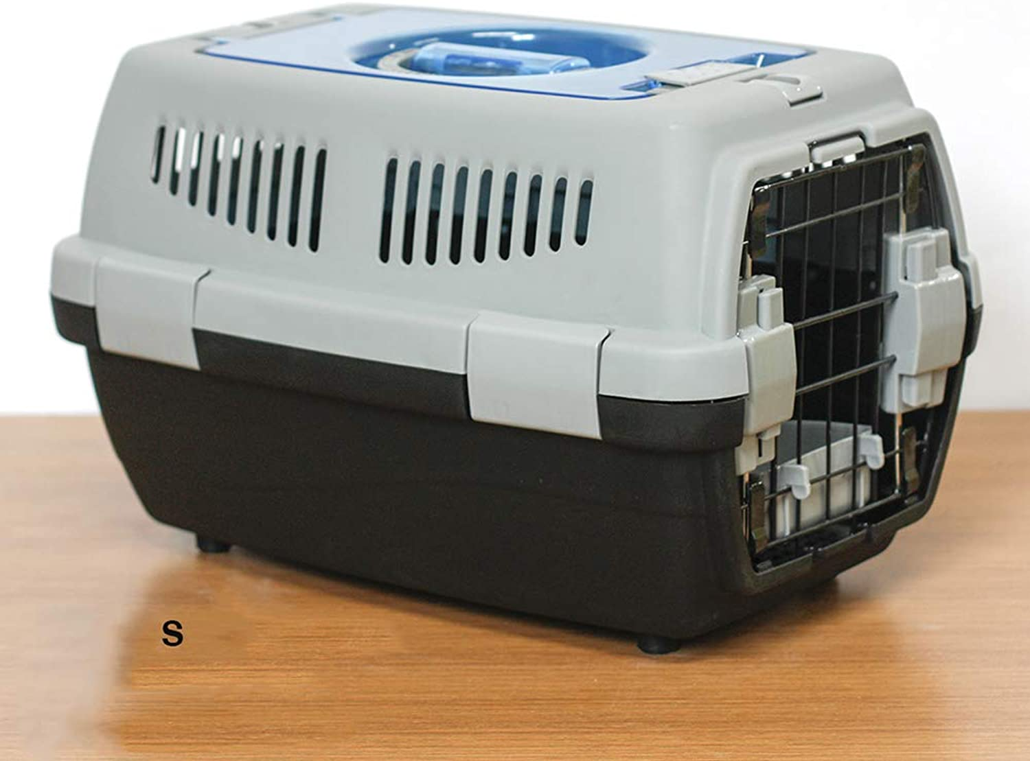 Pet Transport Box  for Transportation of Live Animals,Breathable,Portable,Travel Carrier for Dog Cat Puppy, 2 colors Optional