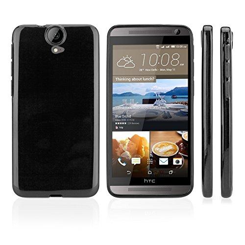 HTC One (E9Plus) Fall, BoxWave® [Tuxedo suitup Schutzhülle] schwarz glänzend TPU Gel Haut Schutzhülle für HTC One (E9Plus)