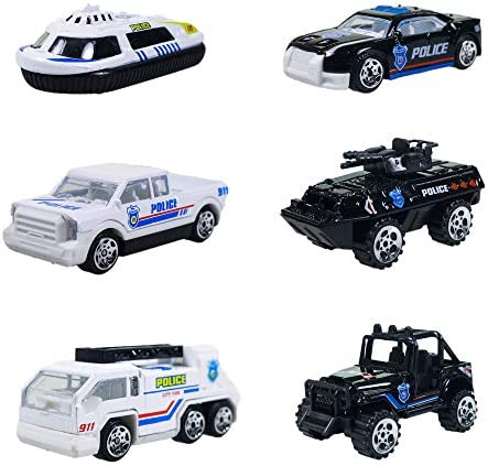 Wishkey DIY Multifunctional Construction Building Police Station Parking Lot Luxury Play Set Toy for Kids ( Multicolor)