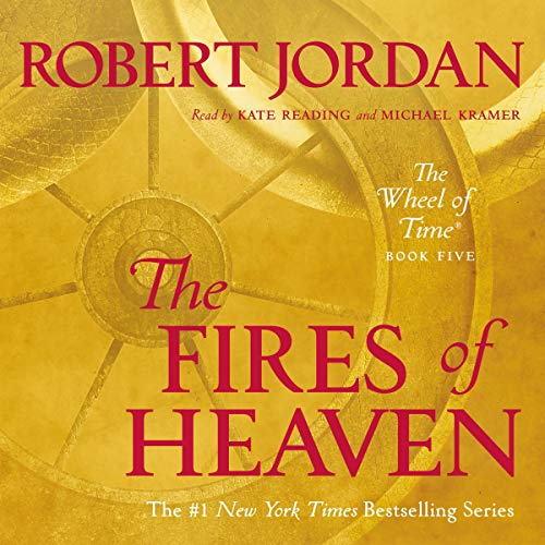The Fires of Heaven audiobook cover art