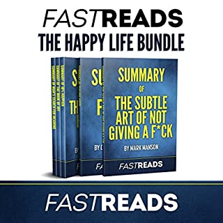 The FastReads Happy Life Bundle audiobook cover art