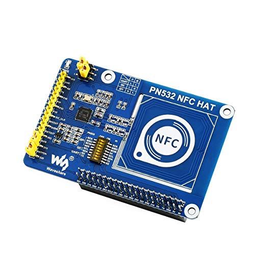 weichuang Electronic Accessories PN532 NFC HAT für RPi I2C / SPI/UART Schnittstellen Elektronikteile Elektronikzubehör