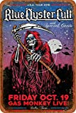 Blue Oyster Cult 2018 Tour Poster Tin/Metal Style Street