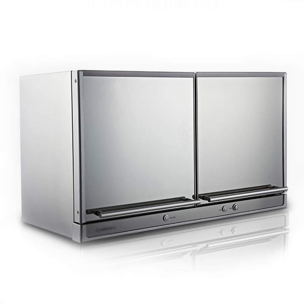 Armario de desinfeccion Colgar en la Cocina secador de Ropa pequeño Escritorio mostrador de desinfección Puede soportar 4-8 Personas (Color : Silver, Size : 70X37.8X39.5cm): Amazon.es: Hogar