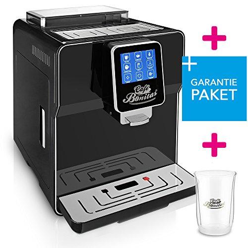 ☆ONE TOUCH☆ 50€ sparen✔ Kaffeevollautomat + RundumSorglosPaket (Garantiepaket)✔ 1 Thermoglas Gratis✔ CAFE BONITAS✔ Newstar 2016 Black✔ Touchscreen✔ Timer✔ 19 Bar✔ Kaffeeautomat✔ Latte Macchiato✔ Kaffee✔ Espresso✔ Cappuccino✔ heißes Wasser✔ Milchschaum✔