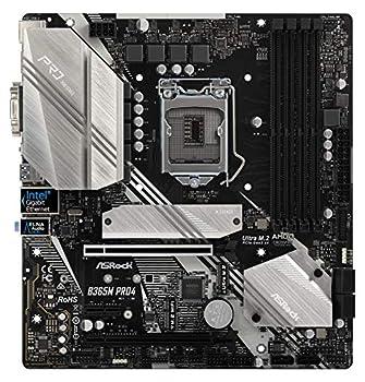 ASRock B365M PRO4 LGA1151/ Intel B365/ DDR4/ Quad CrossFireX/ SATA3&USB3.1/ M.2/ A&GbE/ MicroATX Motherboard