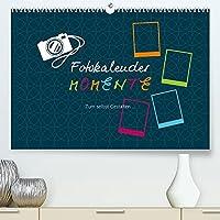 Fotokalender MOMENTE (Premium, hochwertiger DIN A2 Wandkalender 2022, Kunstdruck in Hochglanz): Erstellen Sie Ihren eigenen Fotokalender! (Monatskalender, 14 Seiten )