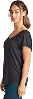 Rockwear Activewear Women's Strappy Back Tee from Size 4-18 for T-Shirt Tops