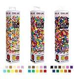 Pix Brix Pixel Art Puzzle Bricks Bundle – 4,500 Piece Pixel Art Kit, Mixed 32 Color Palette (Light, Medium, Dark) – Interlocking Building Bricks, Create 2D and 3D Builds – Stem Toys, Ages 6 Plus