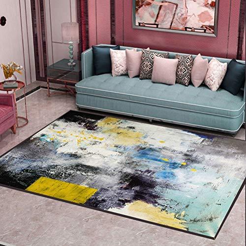 CarPET woonkamer salontafel kleed Noordse stijl tapijt slaapkamer bedmat verdikt gewassen, zijdehaar antislip tapijt 10.7
