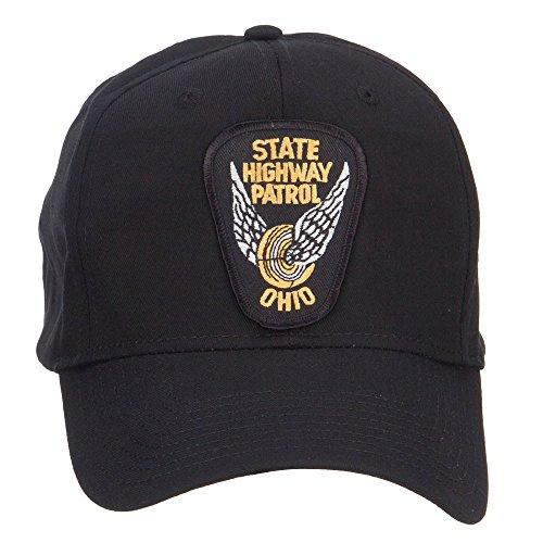 e4Hats.com Ohio State Highway Patrol Patch Cap - Black OSFM