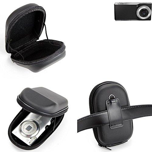 K-S-Trade Gürteltasche Für Panasonic Lumix DMC-CM1 Kameratasche Holster Hardcase Kompaktkamera Easy Access Leicht Zugänglich Case Schutz Hülle Fototasche