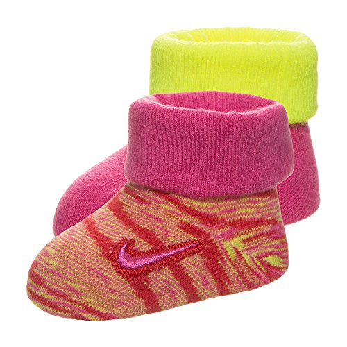 Nike Baby Marled Knit Söckchen, rosa, 0-6 Monate
