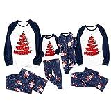 757 Pijamas de Navidad Familia Ropa de Noche Homewear Algodón Camisas de Manga Larga + Pantalones Largos Sudadera Invierno Conjunto de Pijamas Familiar